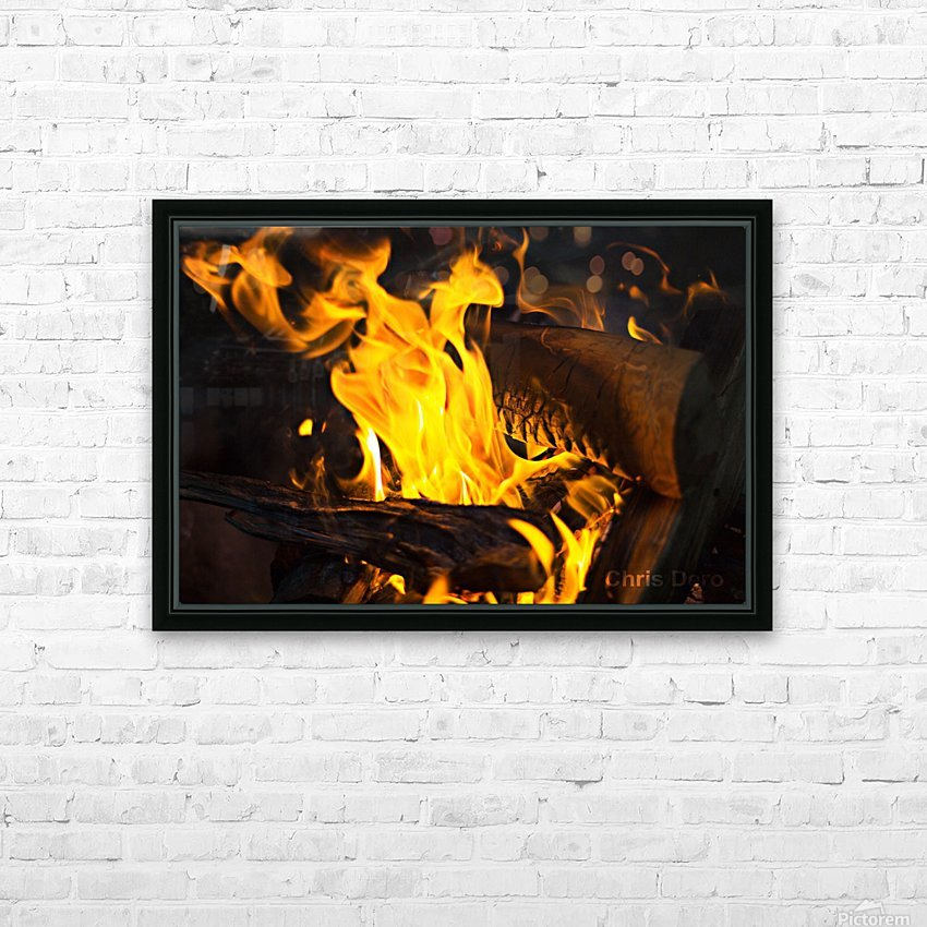 fire HD Sublimation Metal print with Decorating Float Frame (BOX)