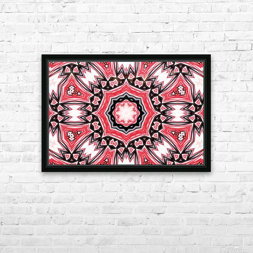 Abstract Art IV  HD Sublimation Metal print with Decorating Float Frame (BOX)