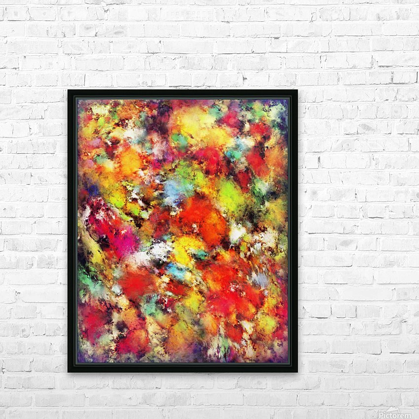 Big colour storm HD Sublimation Metal print with Decorating Float Frame (BOX)