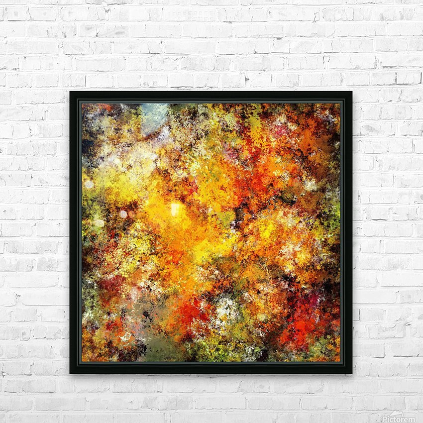 Blistering 2 HD Sublimation Metal print with Decorating Float Frame (BOX)