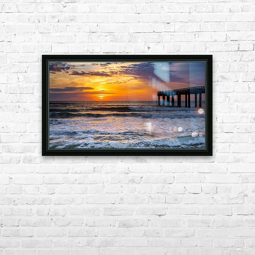 Daybreak HD Sublimation Metal print with Decorating Float Frame (BOX)