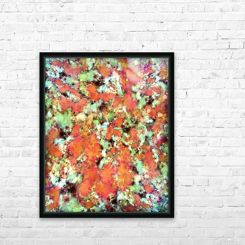 Cascading time HD Sublimation Metal print with Decorating Float Frame (BOX)
