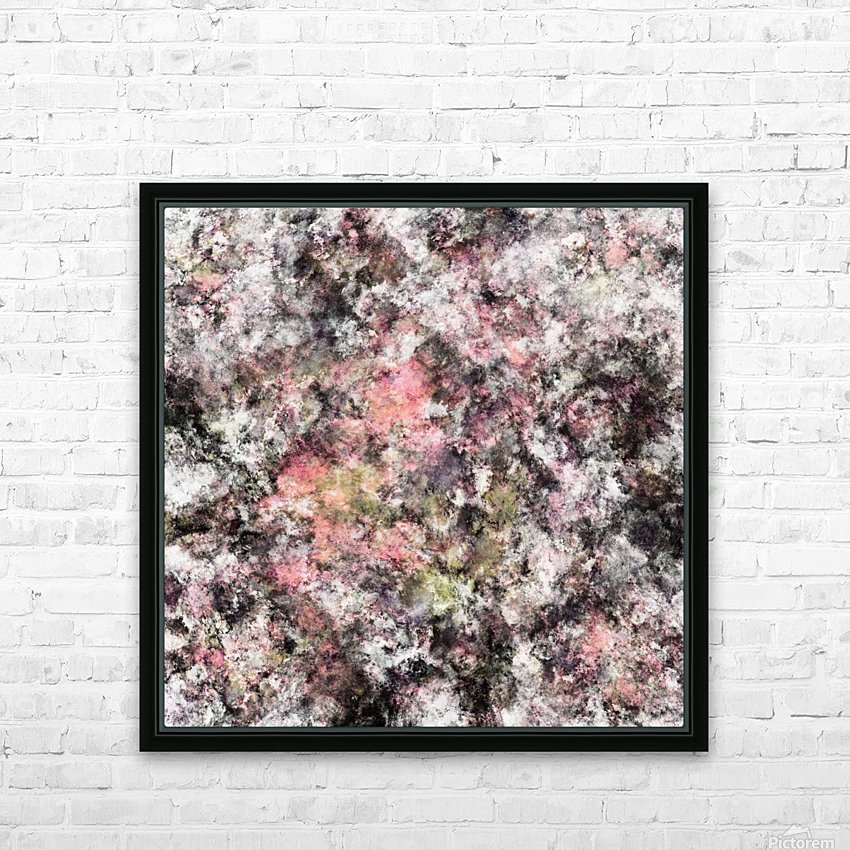 Coral HD Sublimation Metal print with Decorating Float Frame (BOX)