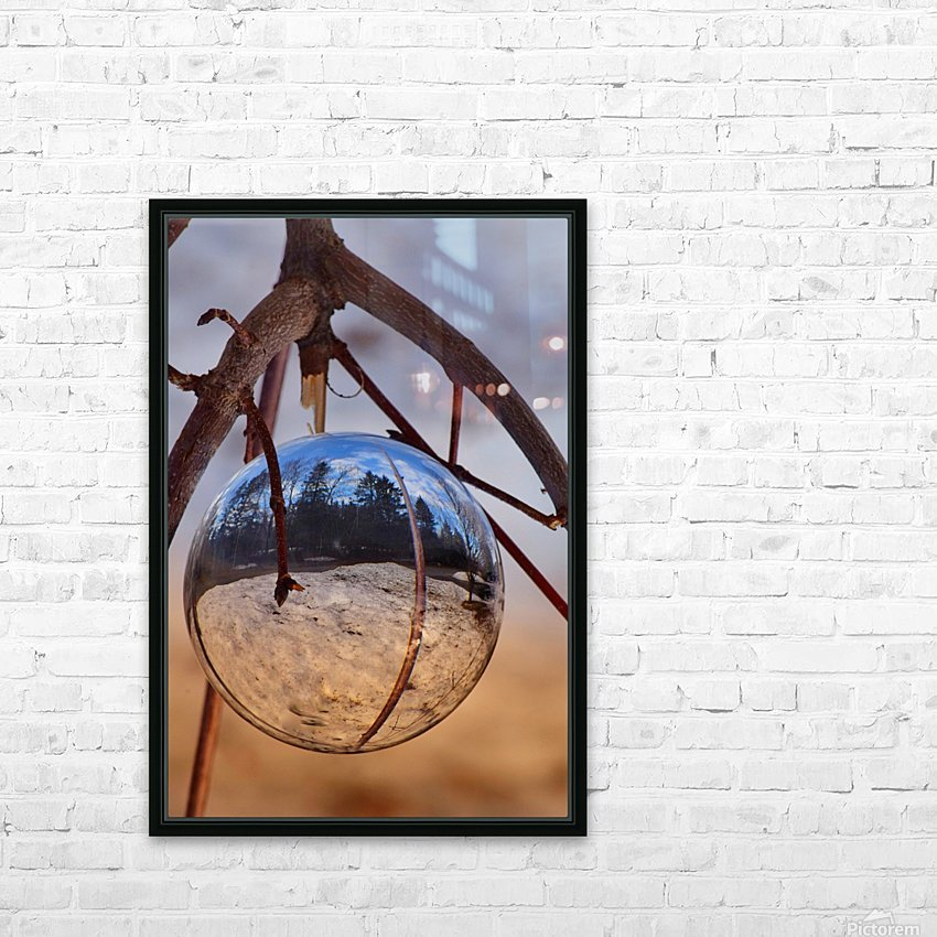 Capturer HD Sublimation Metal print with Decorating Float Frame (BOX)