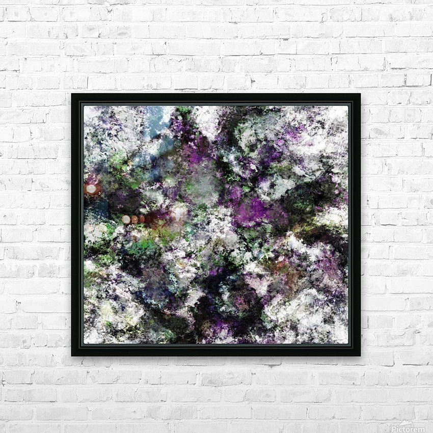 Frosty frosty HD Sublimation Metal print with Decorating Float Frame (BOX)