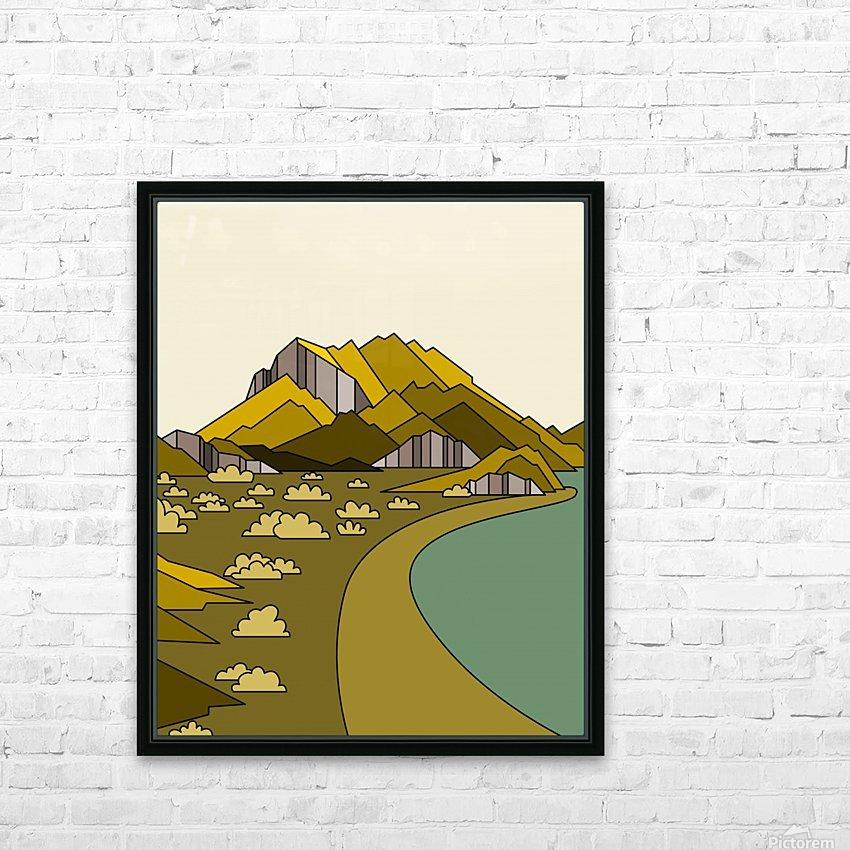 travel destination landscape nature HD Sublimation Metal print with Decorating Float Frame (BOX)