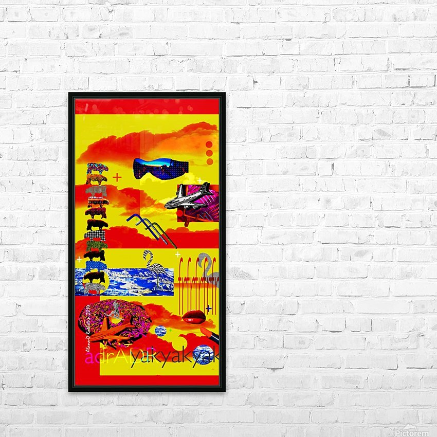 YAKYAKYAK  HD Sublimation Metal print with Decorating Float Frame (BOX)