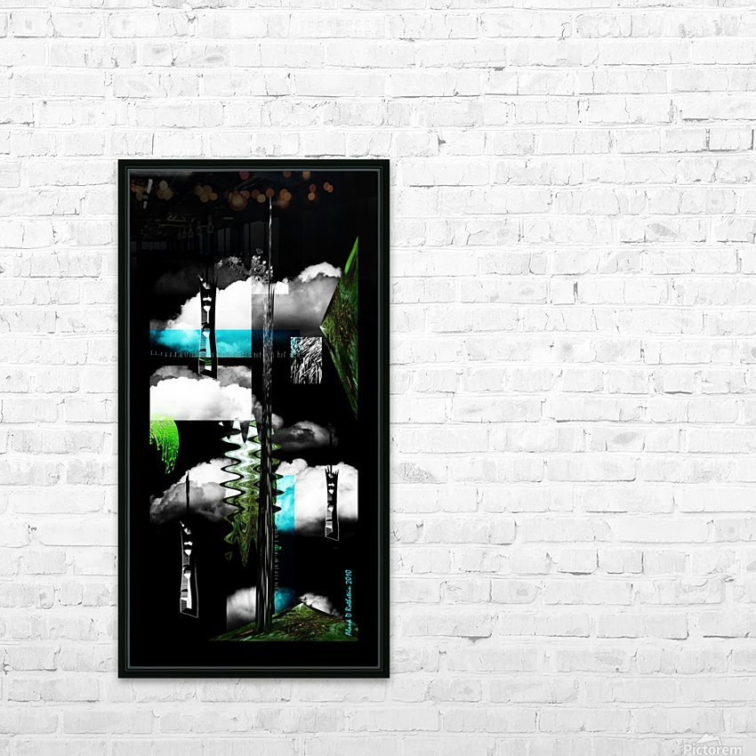 Pave Paradise HD Sublimation Metal print with Decorating Float Frame (BOX)