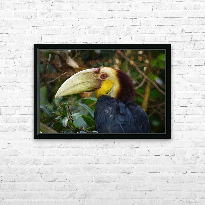 Toucan HD Sublimation Metal print with Decorating Float Frame (BOX)