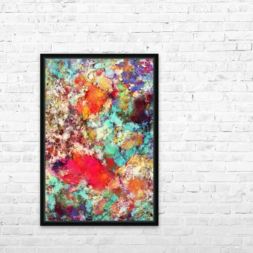 Jaw dropper HD Sublimation Metal print with Decorating Float Frame (BOX)
