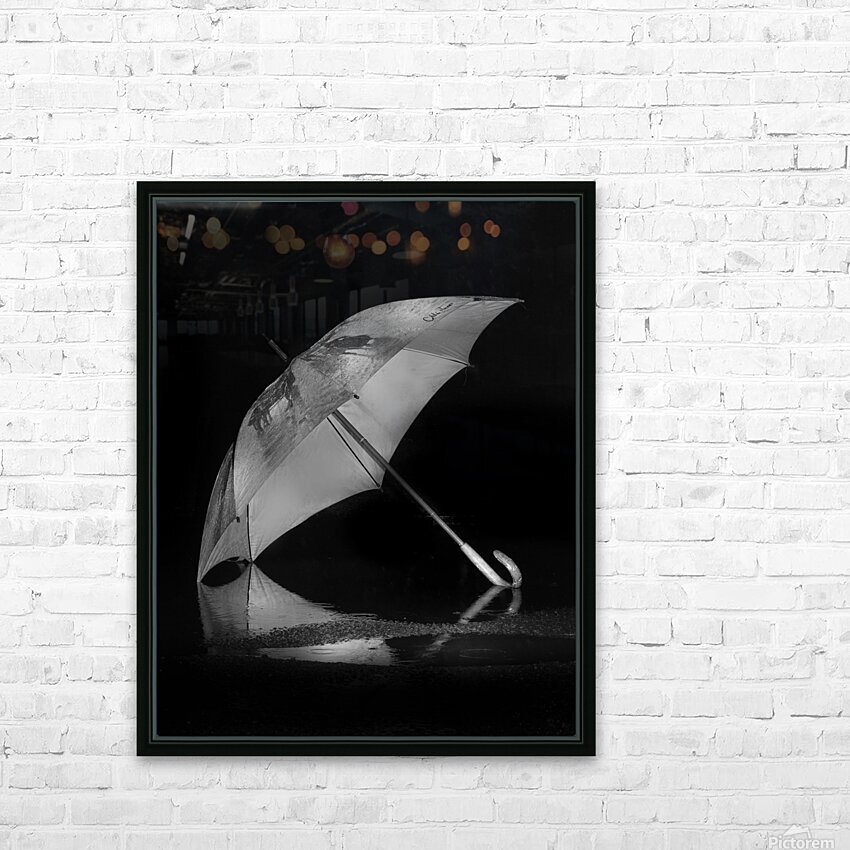 Danser sous la pluie HD Sublimation Metal print with Decorating Float Frame (BOX)