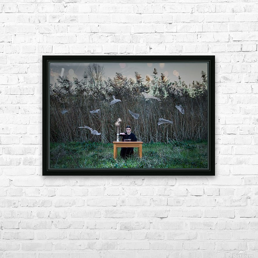 Deperson HD Sublimation Metal print with Decorating Float Frame (BOX)