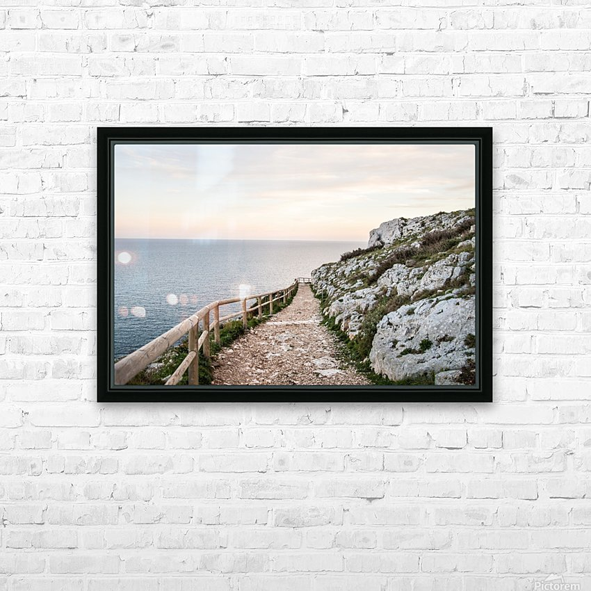 APULIA HD Sublimation Metal print with Decorating Float Frame (BOX)