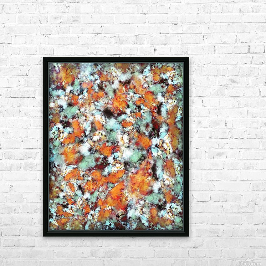 Little falling embers HD Sublimation Metal print with Decorating Float Frame (BOX)