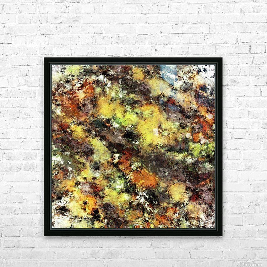 Leaning strata HD Sublimation Metal print with Decorating Float Frame (BOX)