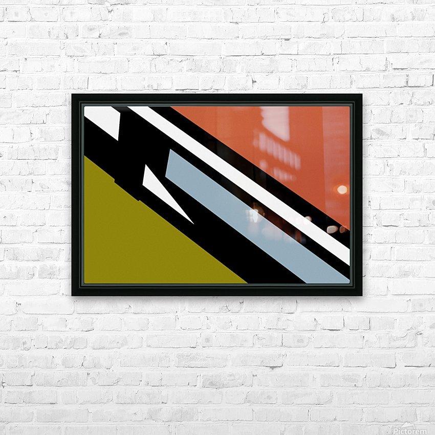 Bridge  X HD Sublimation Metal print with Decorating Float Frame (BOX)