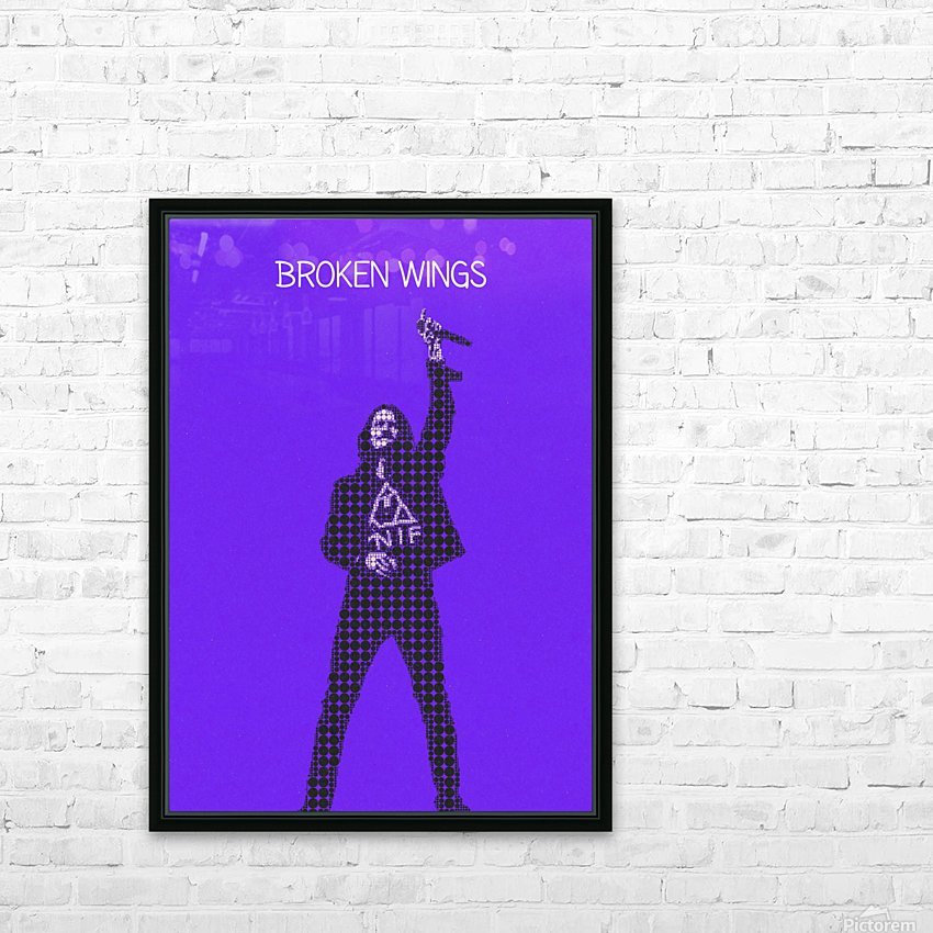 broken wings   Myles Kennedy   alter bridge HD Sublimation Metal print with Decorating Float Frame (BOX)