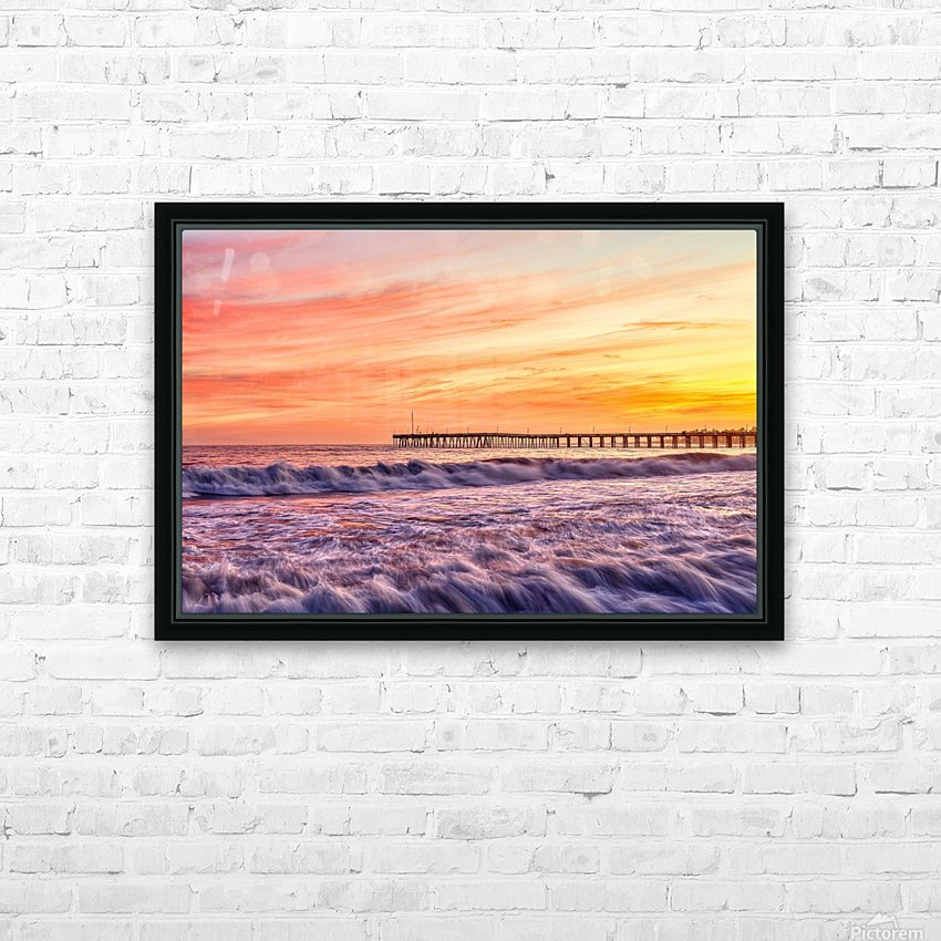 Energized HD Sublimation Metal print with Decorating Float Frame (BOX)