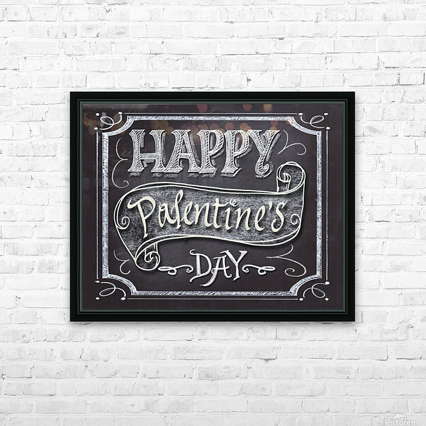 Happy Pantone Day HD Sublimation Metal print with Decorating Float Frame (BOX)