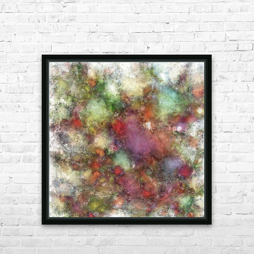Outcrop HD Sublimation Metal print with Decorating Float Frame (BOX)