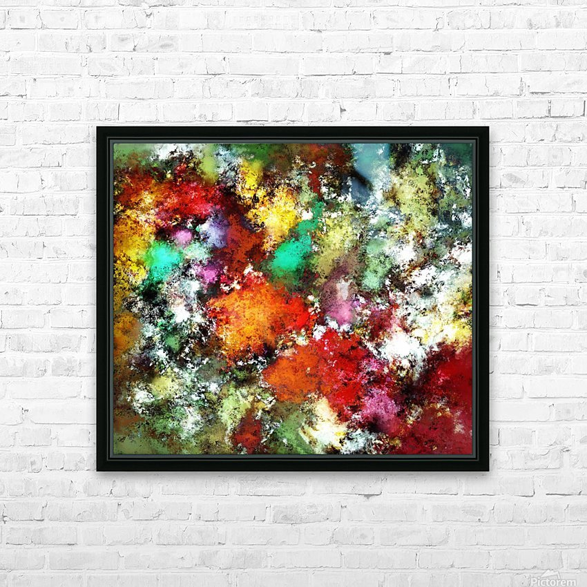 Ramble HD Sublimation Metal print with Decorating Float Frame (BOX)