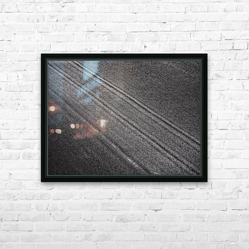 The Road HD Sublimation Metal print with Decorating Float Frame (BOX)