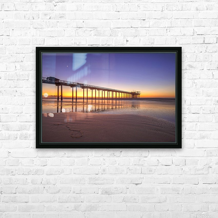 Sunset Therapy HD Sublimation Metal print with Decorating Float Frame (BOX)