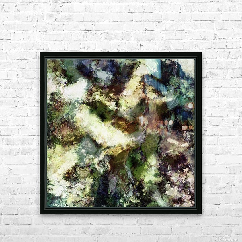 Silent erosion HD Sublimation Metal print with Decorating Float Frame (BOX)