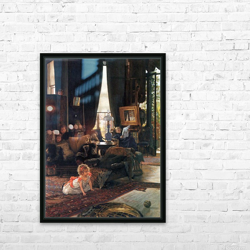 Hide-and-seek by Tissot HD Sublimation Metal print with Decorating Float Frame (BOX)