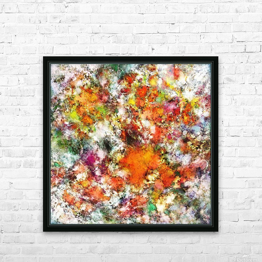 Spangle HD Sublimation Metal print with Decorating Float Frame (BOX)