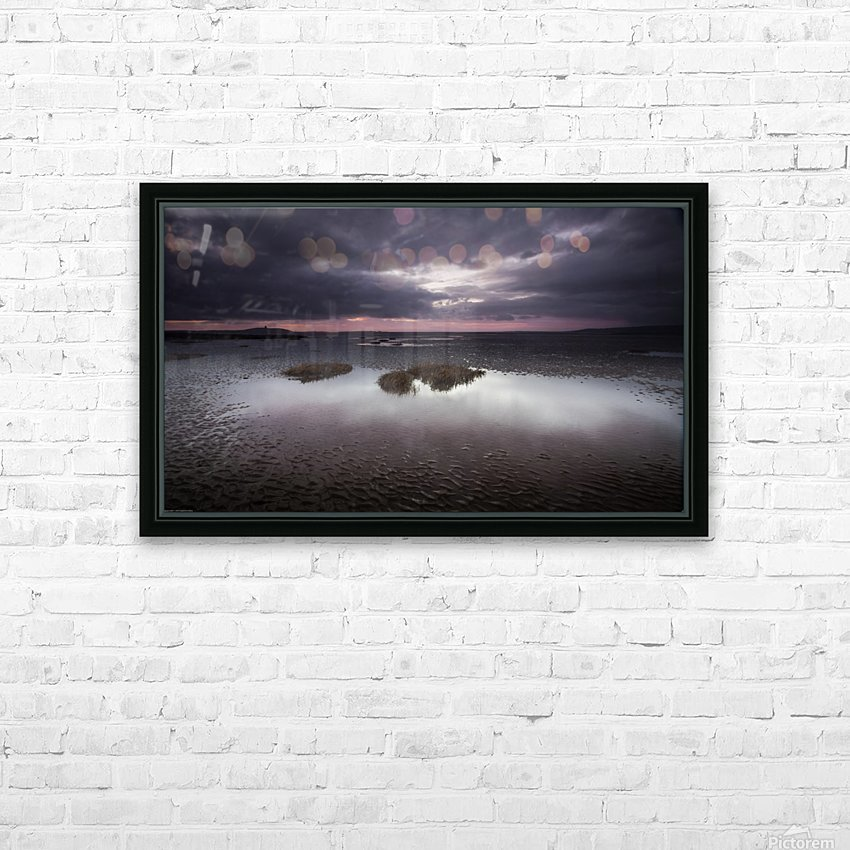 Machynys sunset HD Sublimation Metal print with Decorating Float Frame (BOX)