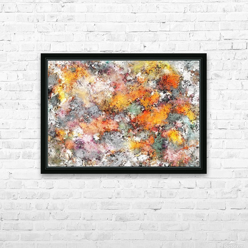 Stumbling through the storm HD Sublimation Metal print with Decorating Float Frame (BOX)