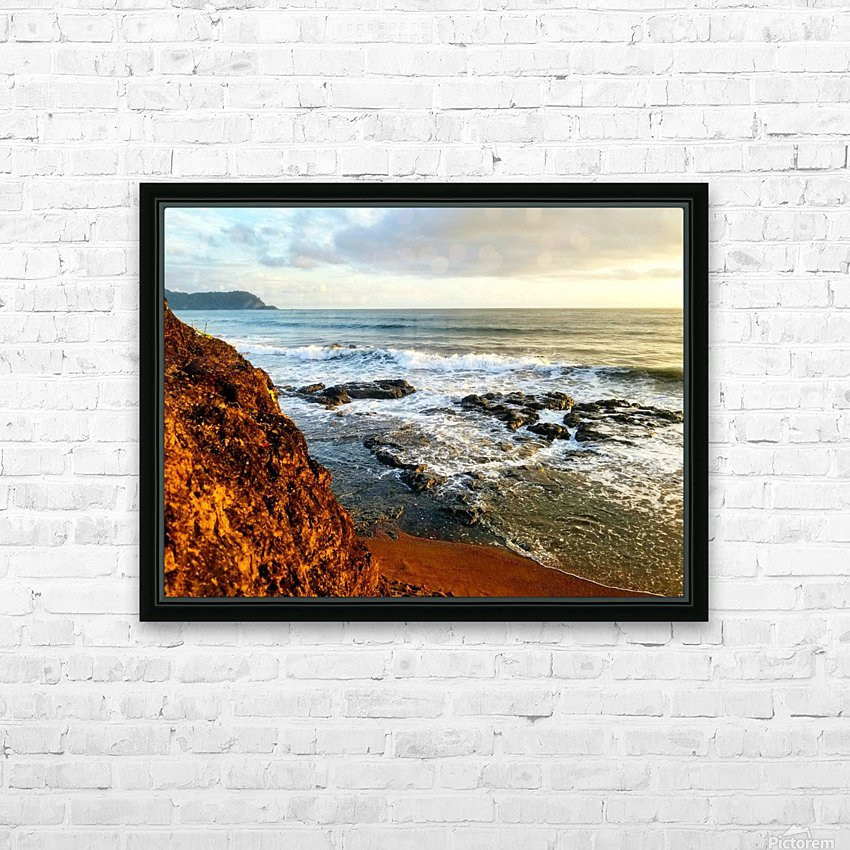 Jaco Beach HD Sublimation Metal print with Decorating Float Frame (BOX)
