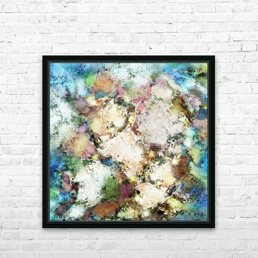 Terrain HD Sublimation Metal print with Decorating Float Frame (BOX)