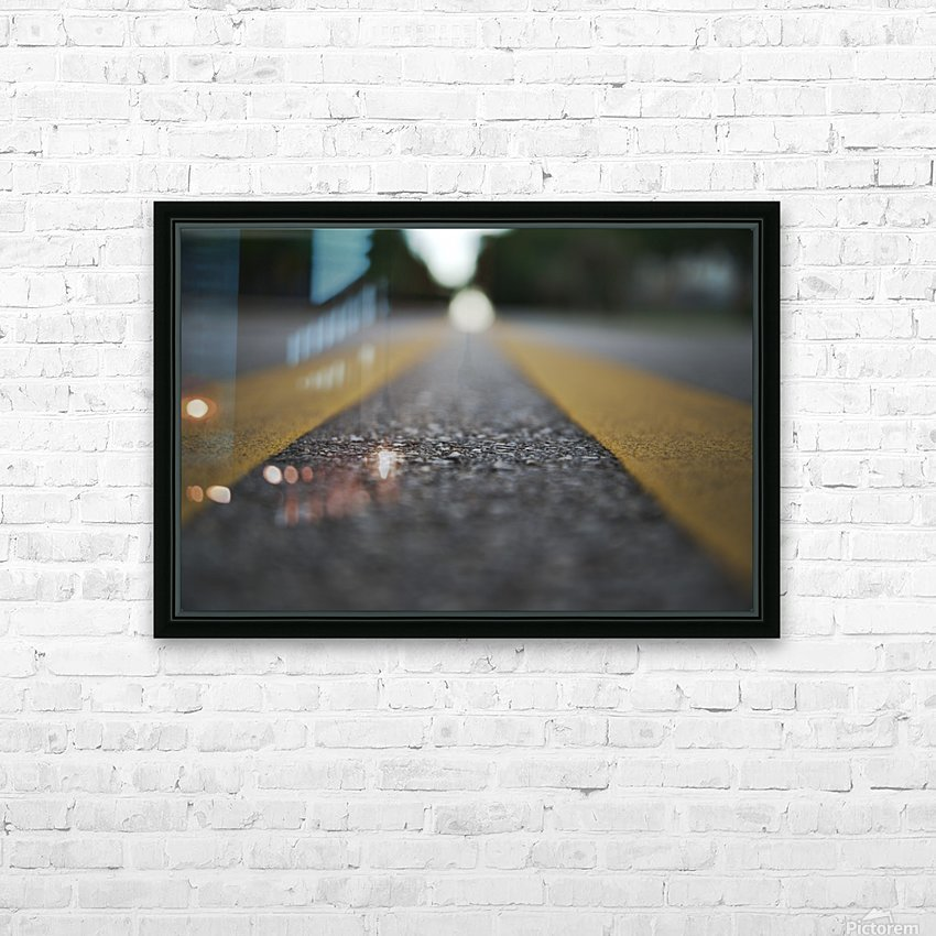 The Road Before You HD Sublimation Metal print with Decorating Float Frame (BOX)