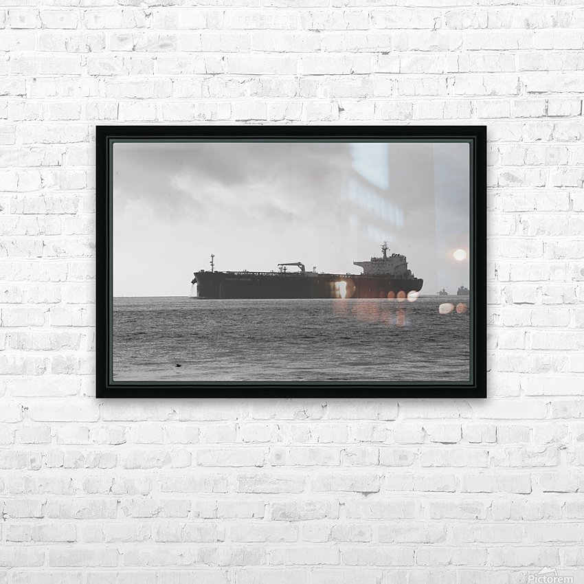 Tanker HD Sublimation Metal print with Decorating Float Frame (BOX)