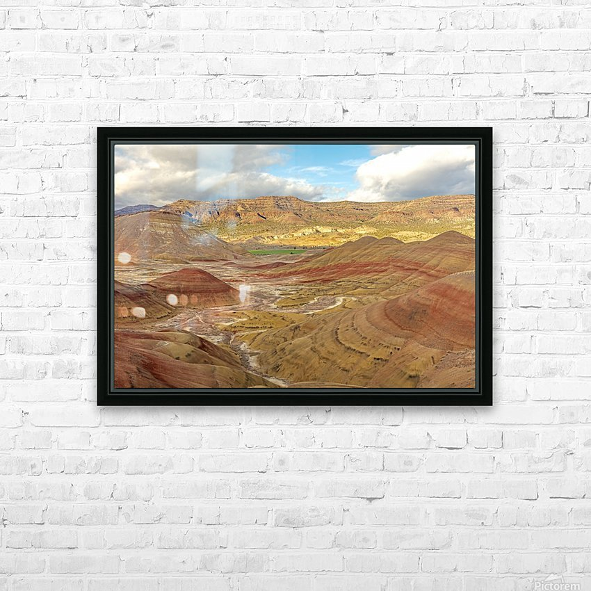 Nature is best artist HD Sublimation Metal print with Decorating Float Frame (BOX)