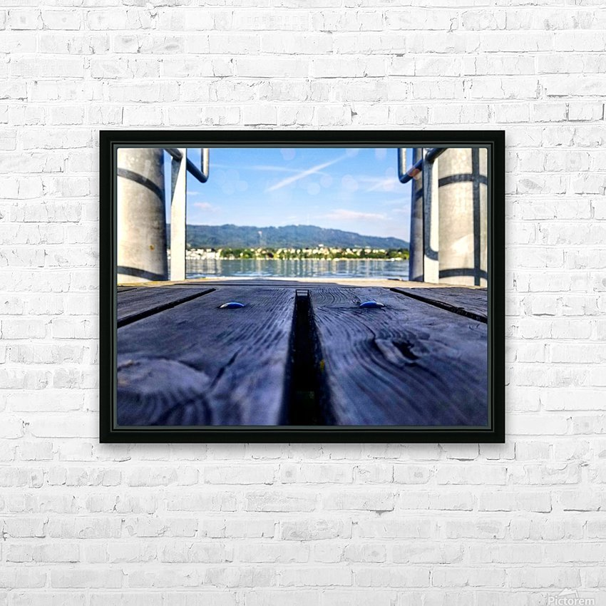 Zurich  HD Sublimation Metal print with Decorating Float Frame (BOX)