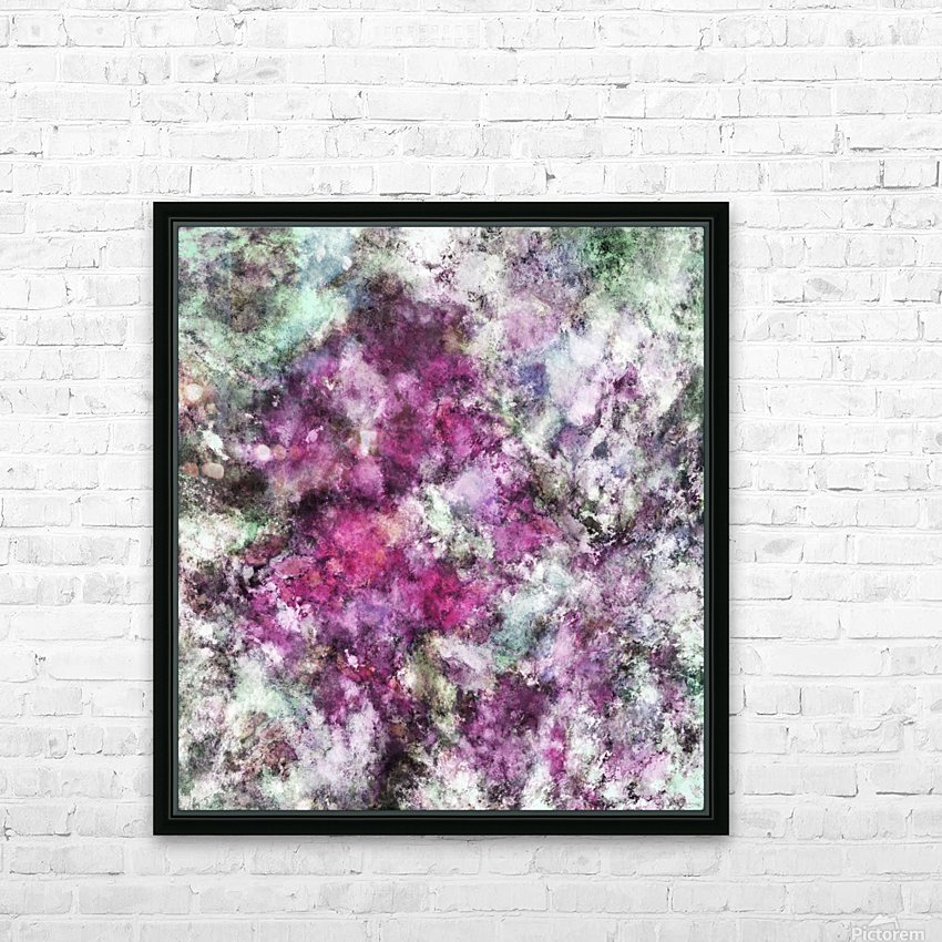 The quiet purple clouds HD Sublimation Metal print with Decorating Float Frame (BOX)