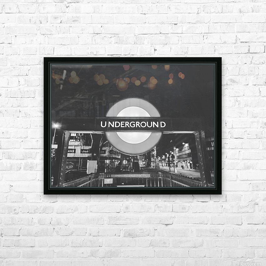 London HD Sublimation Metal print with Decorating Float Frame (BOX)