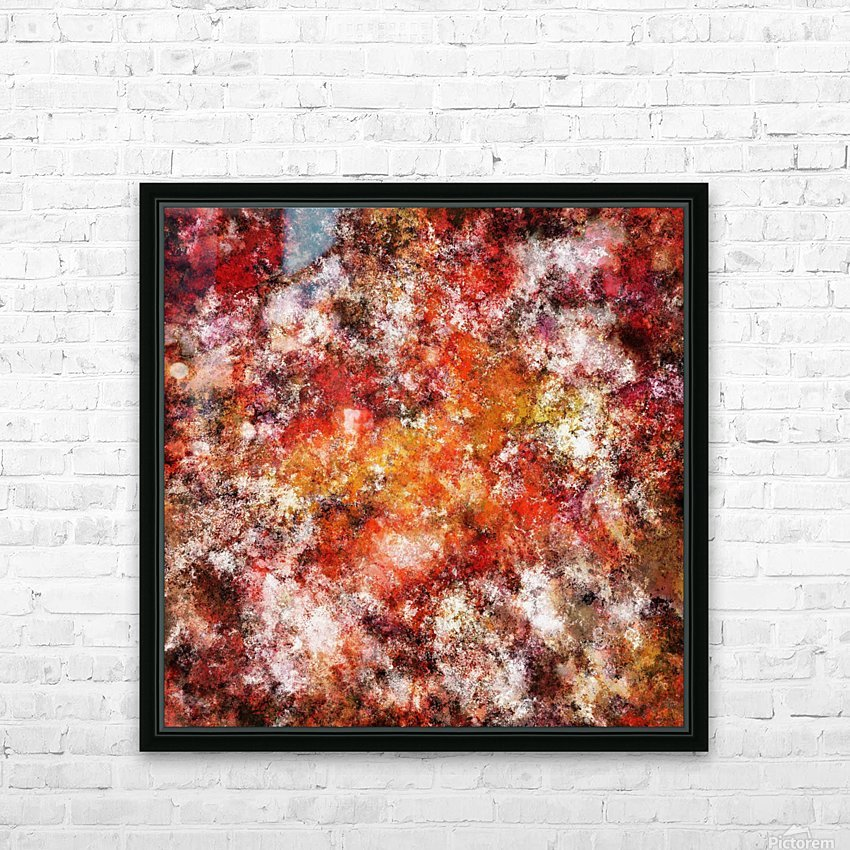 Hard wiring HD Sublimation Metal print with Decorating Float Frame (BOX)