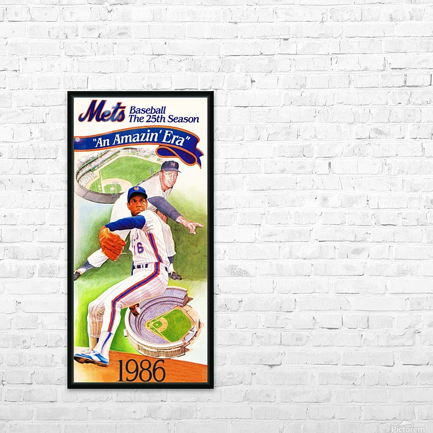 gifts for new york sports fans HD Sublimation Metal print with Decorating Float Frame (BOX)