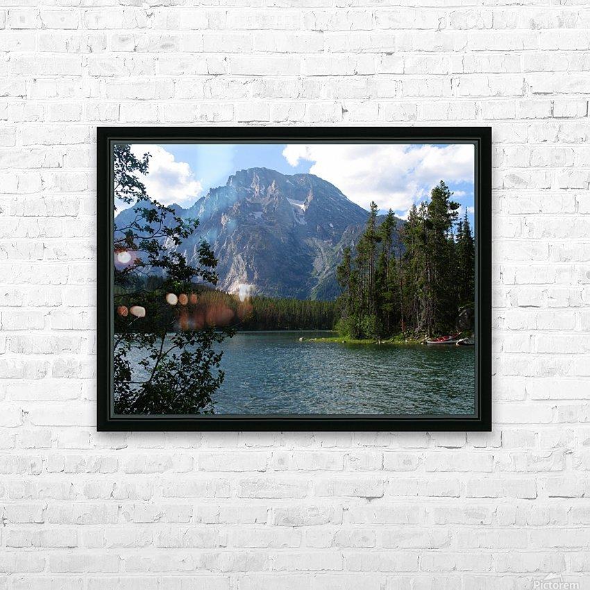 Boulder Island Respite 1 HD Sublimation Metal print with Decorating Float Frame (BOX)