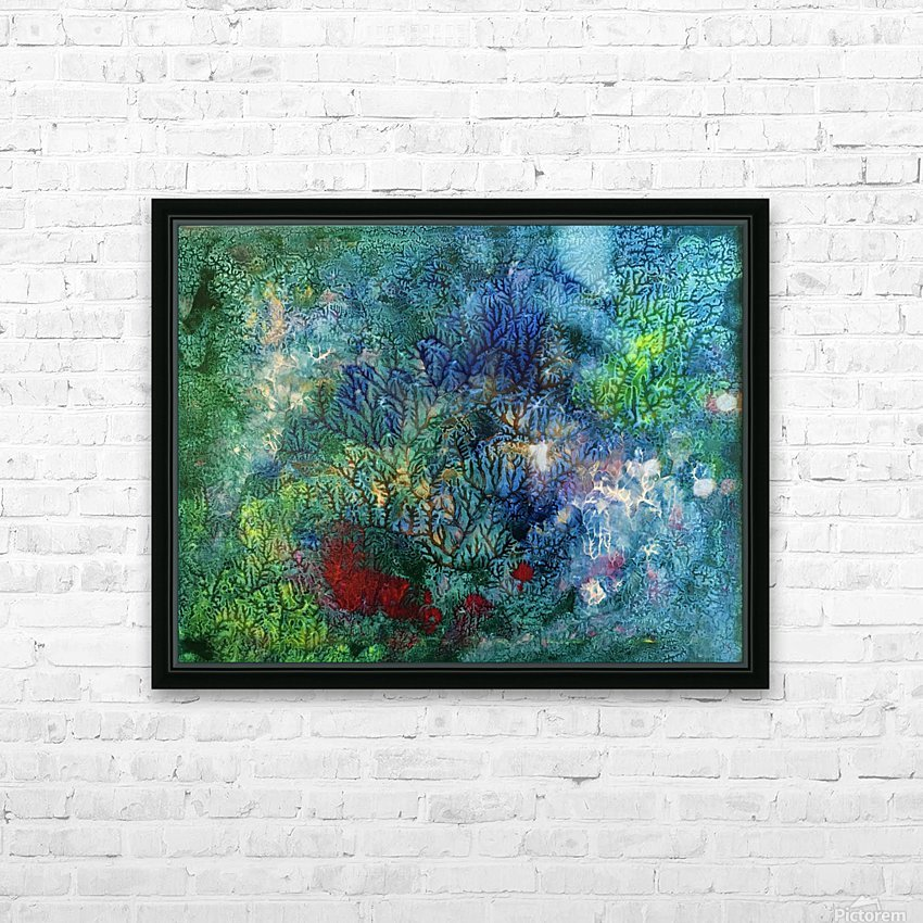 The Reef HD Sublimation Metal print with Decorating Float Frame (BOX)