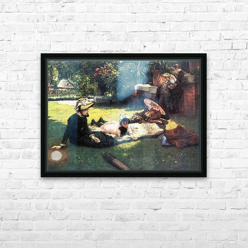 In the sun by Tissot HD Sublimation Metal print with Decorating Float Frame (BOX)