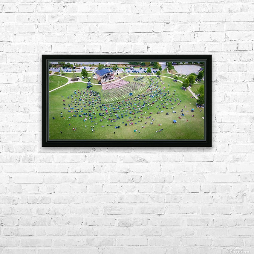 Lakeside High Class of 2020   Graduation Aerial View 0728 05 30 20 2 HD Sublimation Metal print with Decorating Float Frame (BOX)