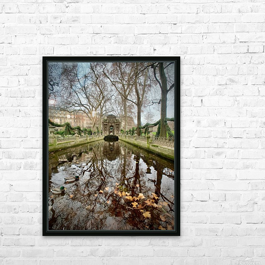 Medicis 2   1 HD Sublimation Metal print with Decorating Float Frame (BOX)