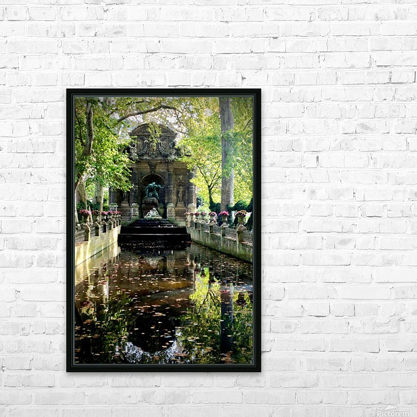 Medicis 3   1 HD Sublimation Metal print with Decorating Float Frame (BOX)