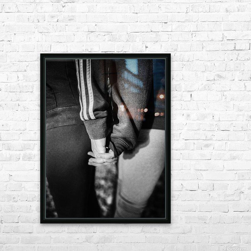 Together We Stand HD sublimation métal imprimé avec décoration flotteur cadre (boîte)