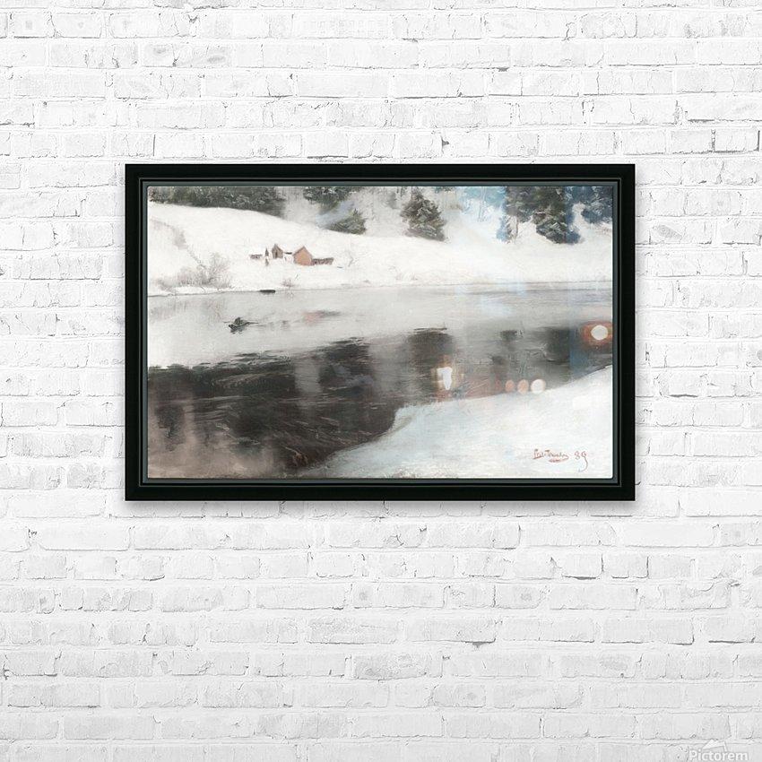Blaafarveverket HD Sublimation Metal print with Decorating Float Frame (BOX)